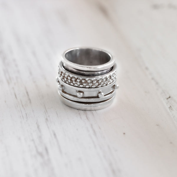 Greece Ring-Silver