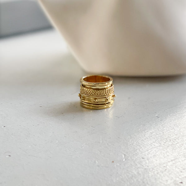 Greece Ring-Gold