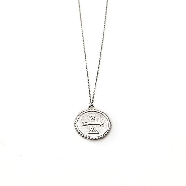 Kaitlin Necklace-Silver