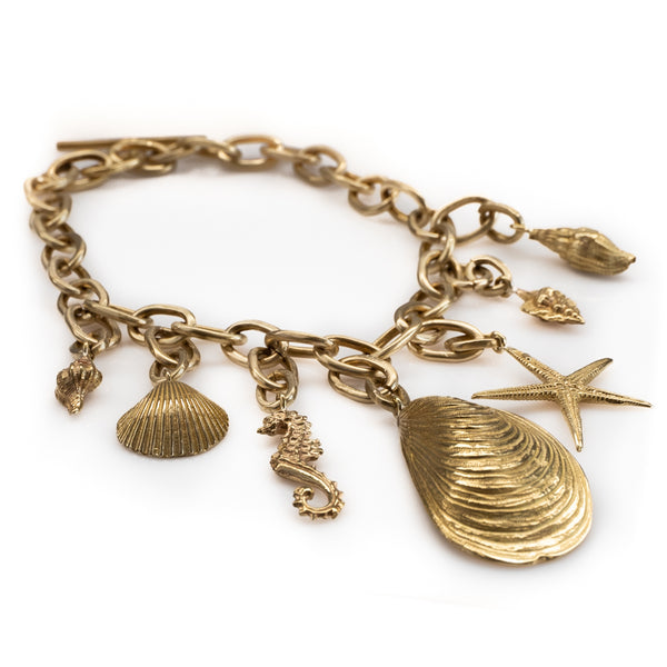 Ocean Necklace-Gold