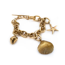 Load image into Gallery viewer, 3rdf floor jewellery summer collection ocean bracelet gold