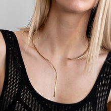 Load image into Gallery viewer, 3rdfloor handmade conceptual jewellery numinous necklace gold