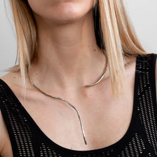 Load image into Gallery viewer, 3rdfloor handmade conceptual jewellery numinous necklace silver