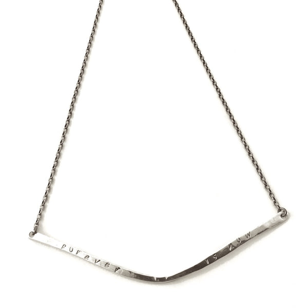 Dione Necklace-Silver