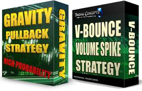 Gravity Pullback Strategy with V-Bounce Volume Spike Strategy - Forex EA Download