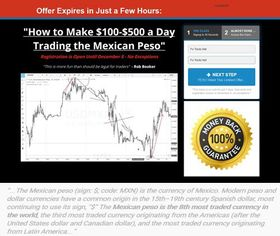 How To Trade The Mexican Peso by Rob Booker's - Forex EA Download