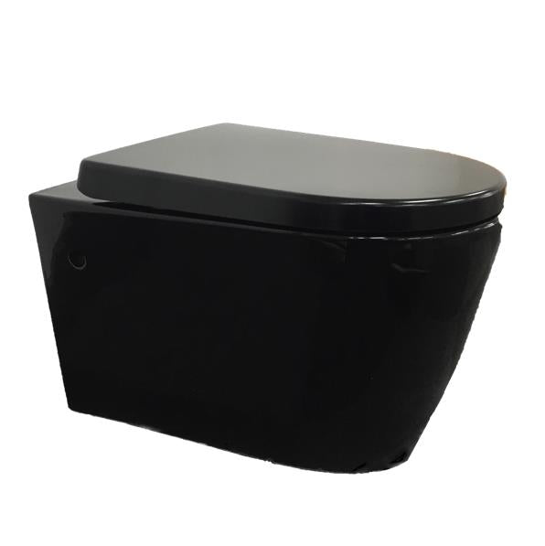 Wall Hung Pan-Avery Black