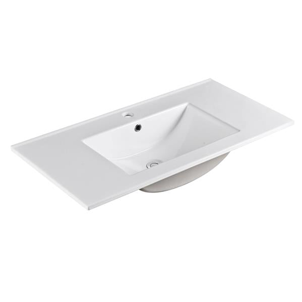 Single Basin Ceramic Top 910 x 460 x 180mm