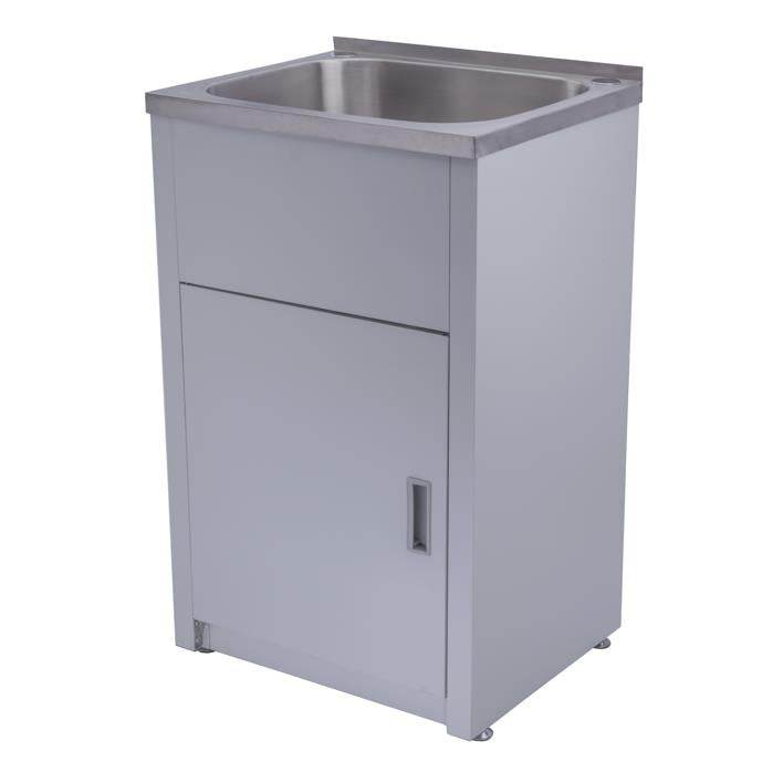 Laundry Tub Stainless Steel 390 x 500 x 925mm