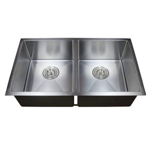 Kitchen Sink Double Bowl Under Mount- PKS-775D
