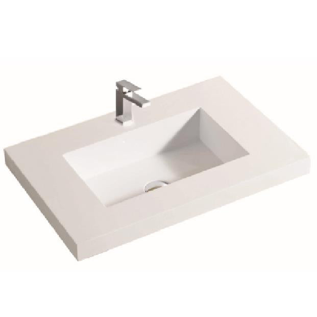 Single Basin Polyurethane Top 600 x 460 x 140mm