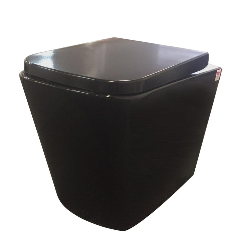 Wall Faced Pan- Qubist BLACK