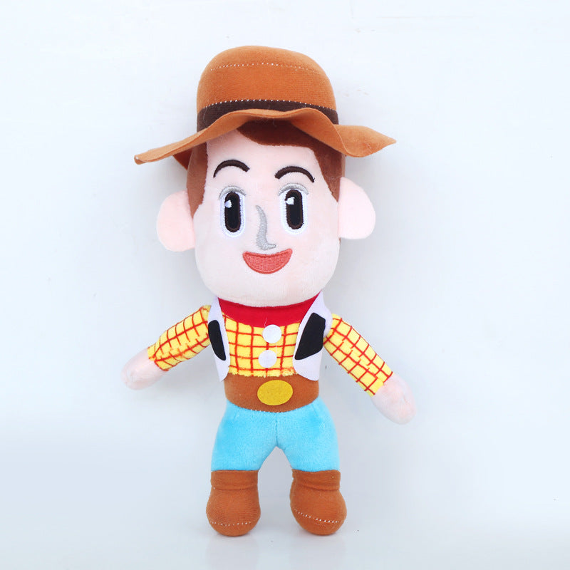 Toy Story Plush Toy Buzz Lightyear And Cowboy Chief Woody For