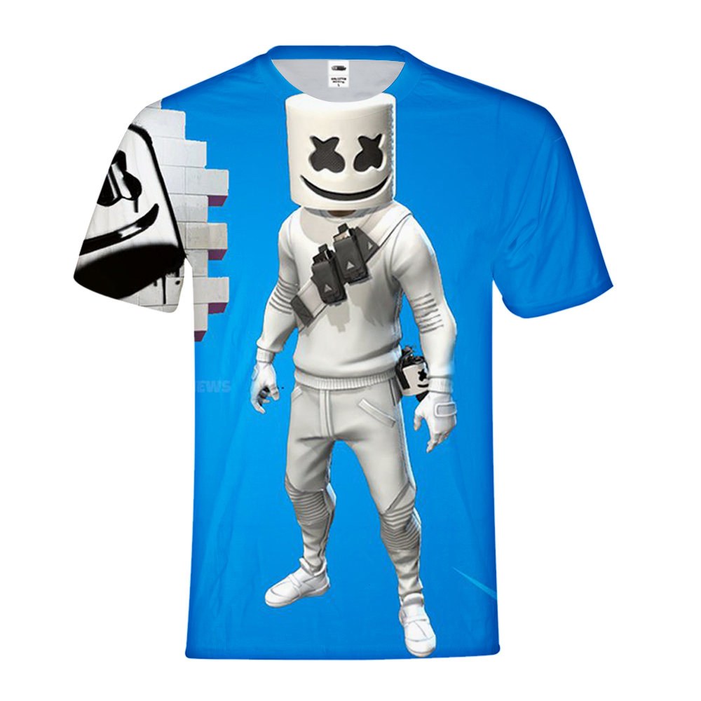 f61eb048 Load image into Gallery viewer, Fortnite Marshmello Short Sleeve T-Shirt ...