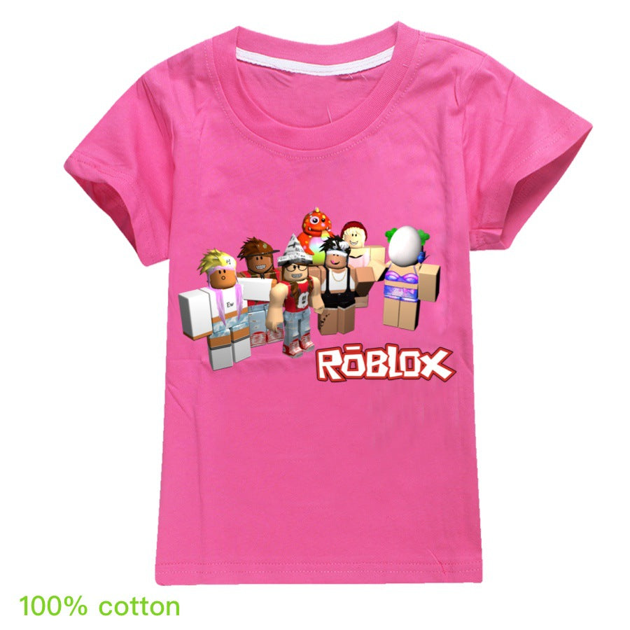 Roblox Kids T Shirt Short Sleeve For Boy And Girls Prosholiday