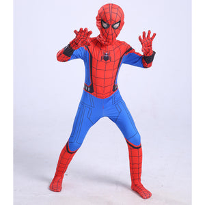 Spider-Man Homecoming Jumpsuit Cosplay Costume For Kids