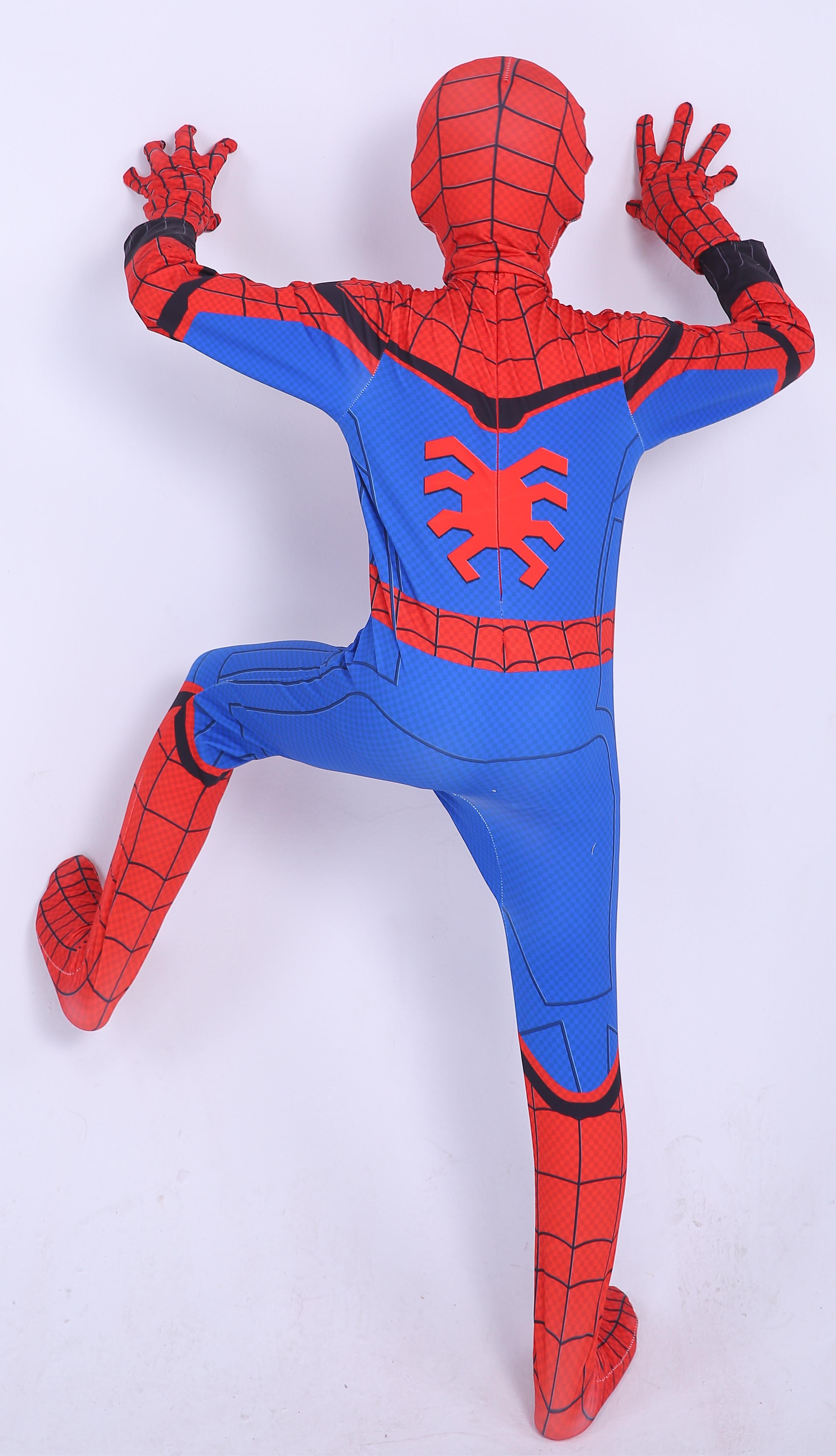 Spider Man Homecoming Jumpsuit Cosplay Costume For Kids Prosholiday