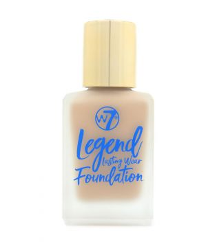 W7 Legend tekući puder - Natural Beige