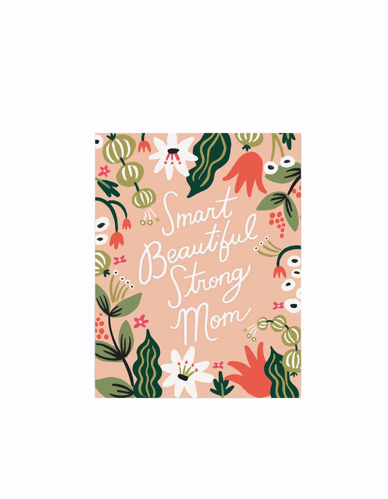 Smart Beautiful Strong Card