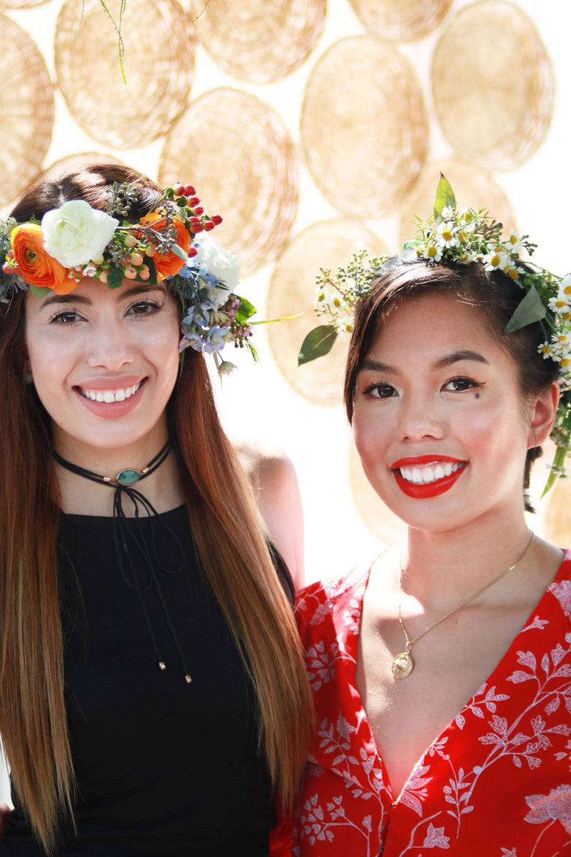 Private Floral Workshop: Flower Crowns