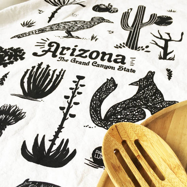 Arizona Grand Canyon State Tea Towel
