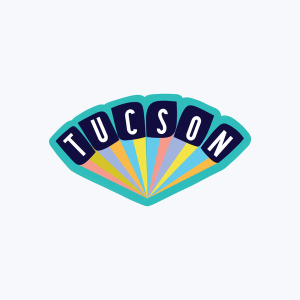 Tucson Retro Sticker