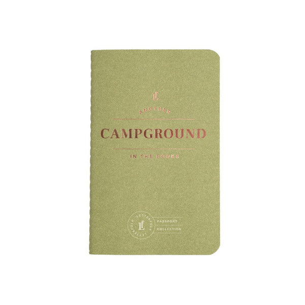 Campground Passport Journal