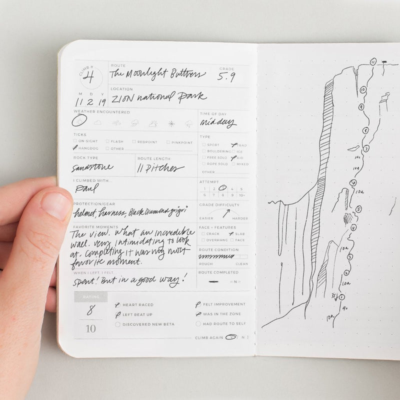 Climb Passport Journal
