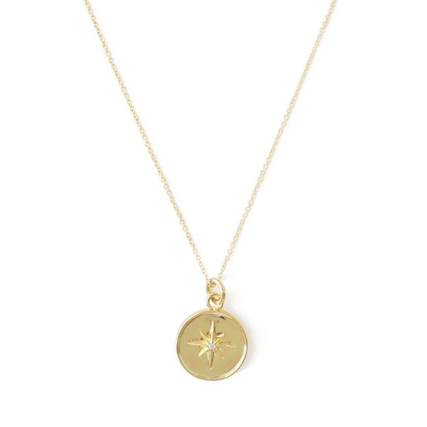 Starburst Necklace - Gold