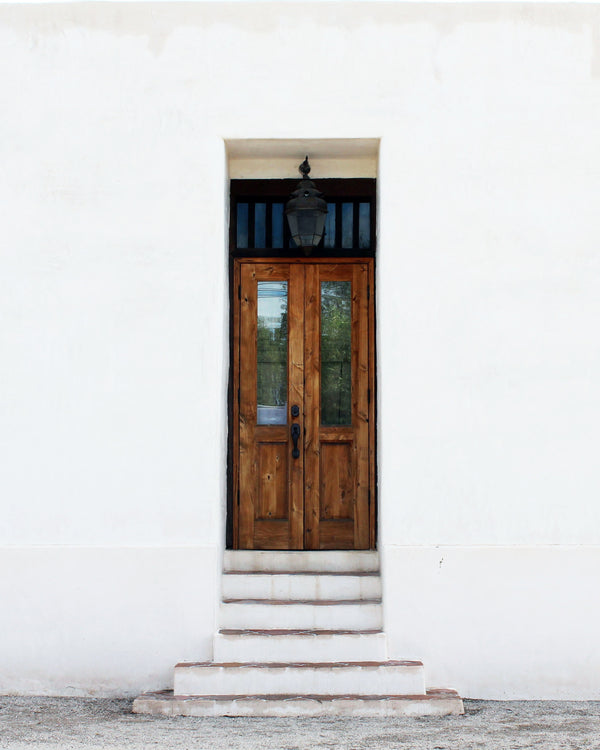 Barrio Rustic: Doors of Tucson Print