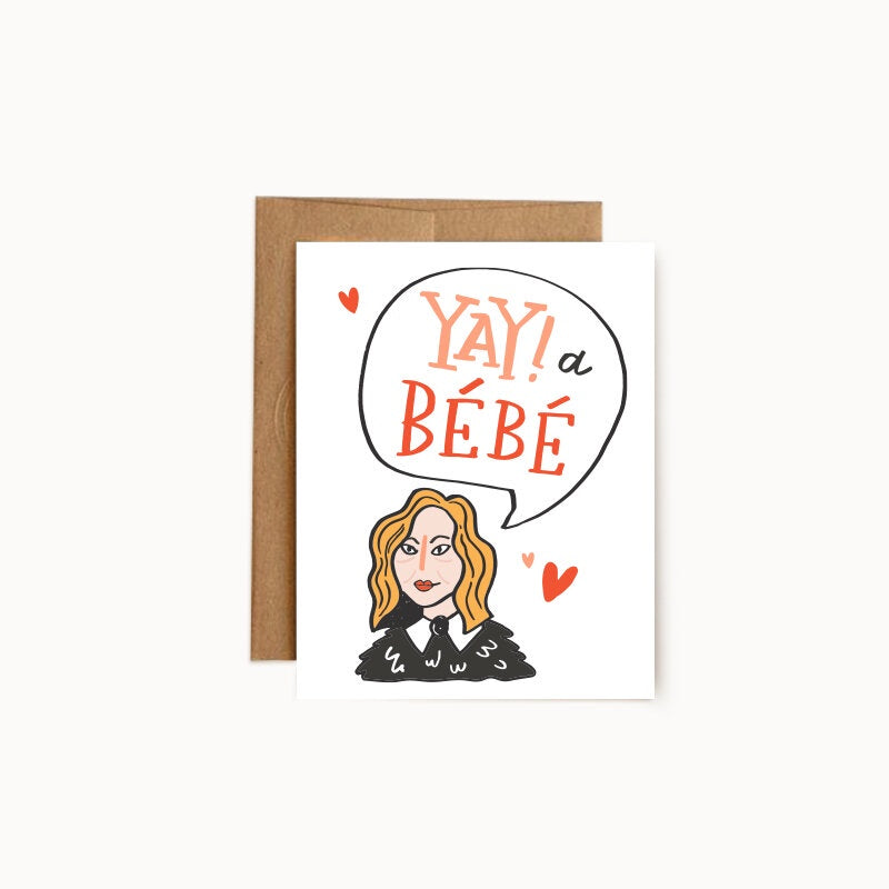 Yay! A Bebé Greeting Card