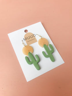 Saguaro Earrings