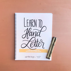 Hand Lettering Supply Kit