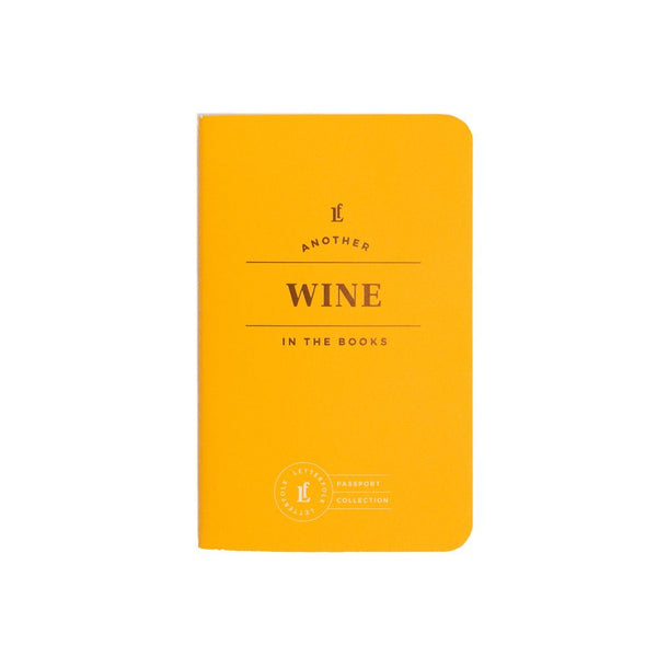 Wine Passport Journal