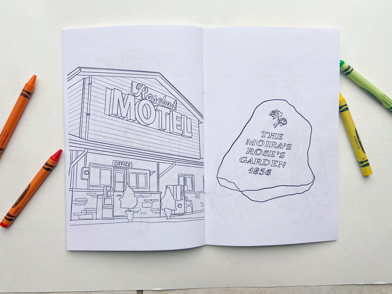 Schitt's Creek Coloring Book
