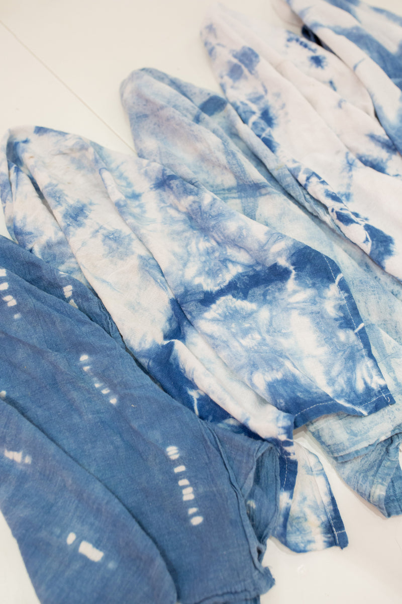 Private Shibori Dyed Onesies & Swaddles Workshop