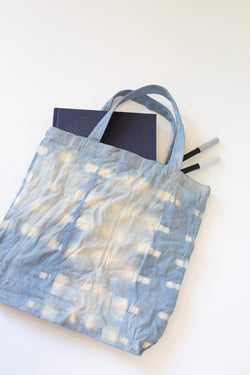 Private Shibori Dye Workshop: Canvas Tote Bags