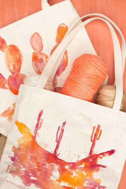 November  24 | Canvas Tote Customized with India Ink Workshop