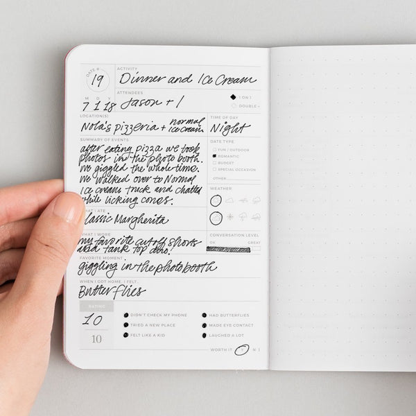 Date Passport Journal