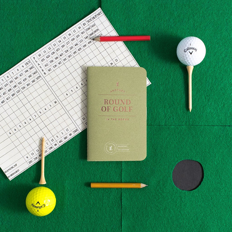 Round of Golf Passport Journal