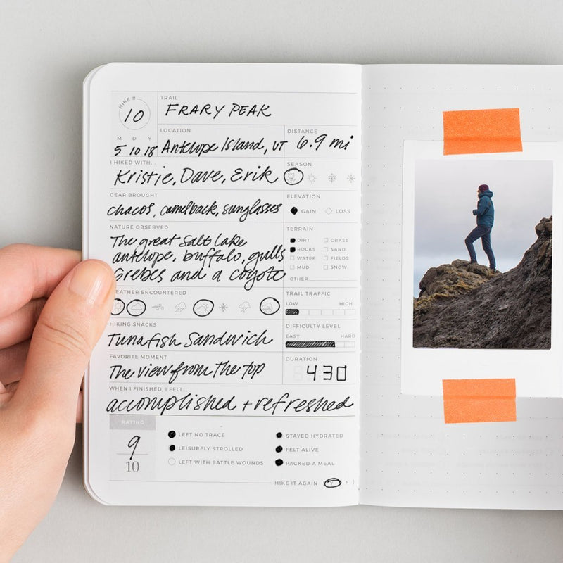 Hike Passport Journal
