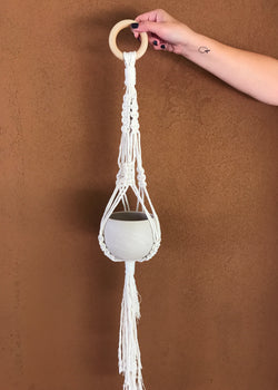 Private Macrame Plant Hanger Workshop