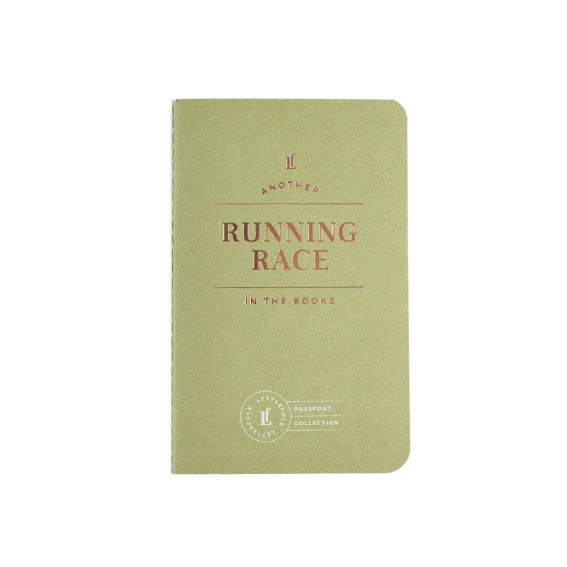 Running Race Passport Journal