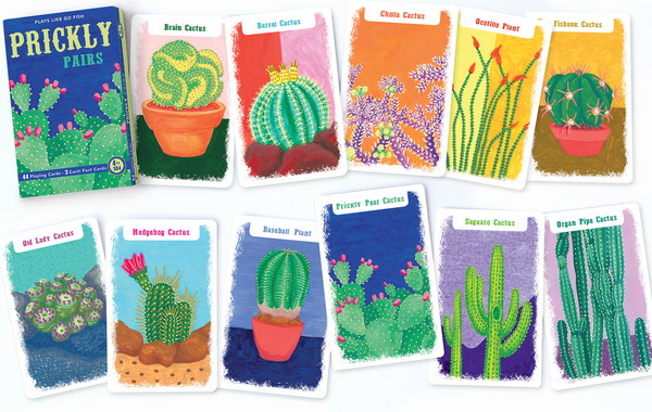 Prickly Pairs Card Game
