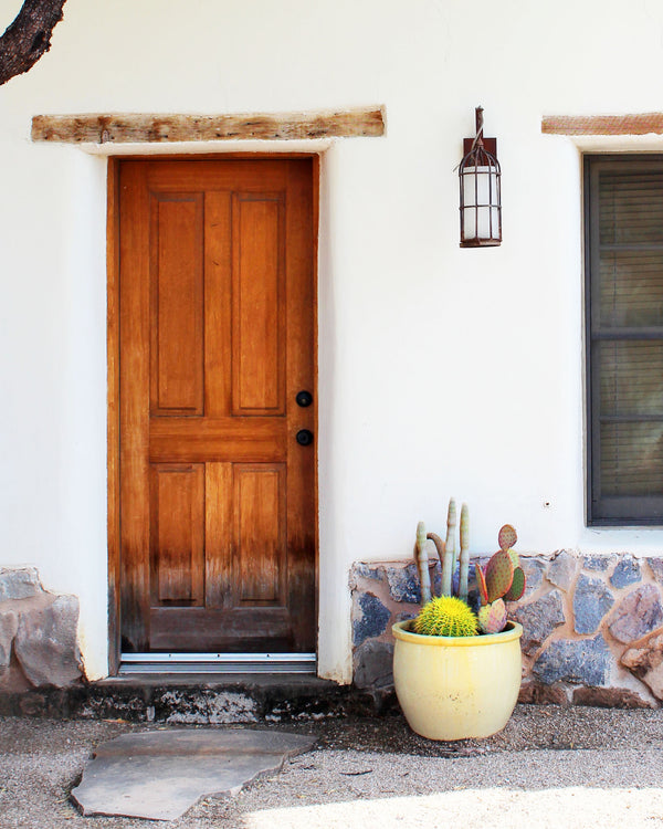 Barrio Rainbow: Doors of Tucson Print