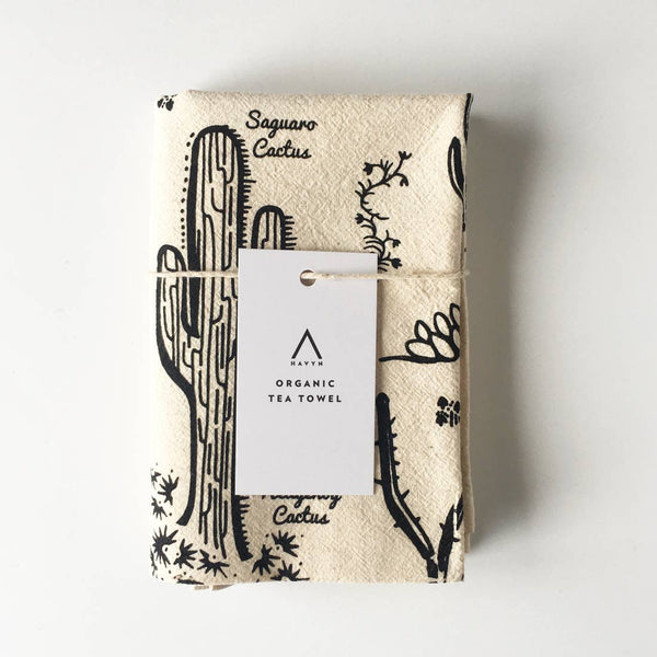 Desert Species Tea Towel