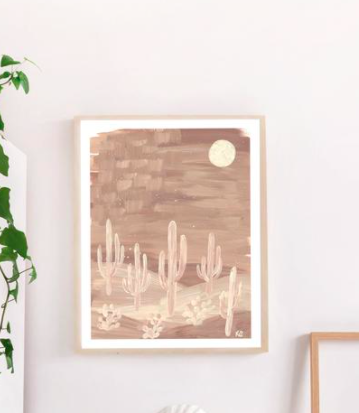 Neutral Night Art Print