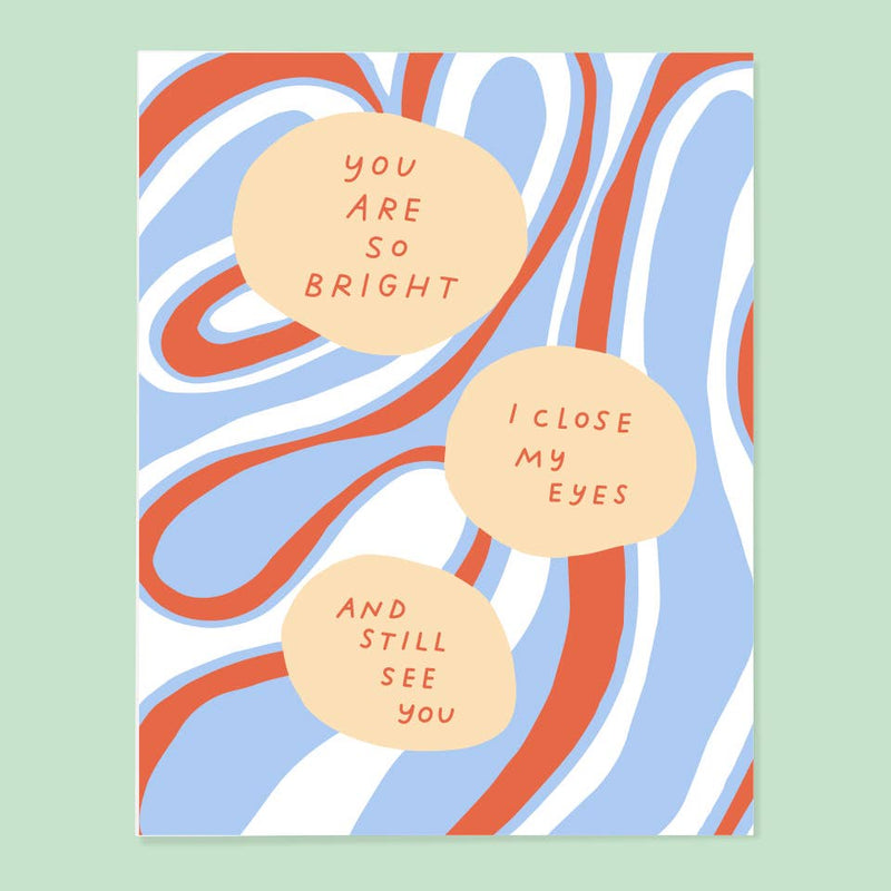 So Bright Card
