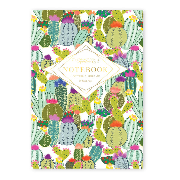 Cactus Explosion Jotter Supreme Notebook