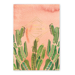Coral Cactus Jotter Supreme Notebook
